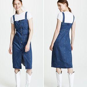 BB Dakota Lauren Denim Button Jumper Dress (4)